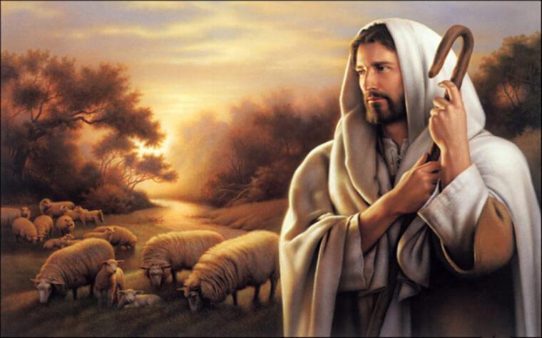 Jesus, the good shepherd
