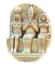 egyptian gods, horus, Isis & osiris