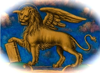 winged lion, icon of the British empire
