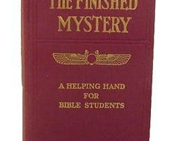 Watchtower's Finished Mystery book, 1917