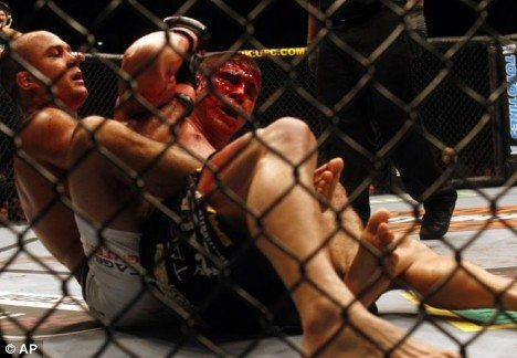 cage fighting barbarians