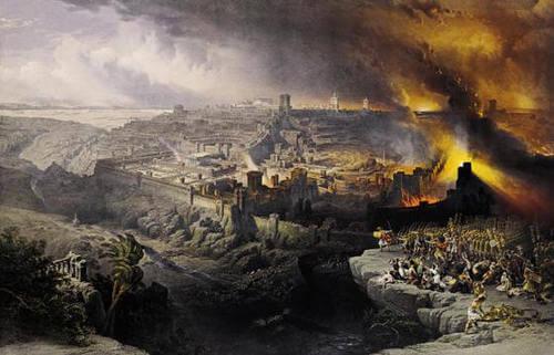destruction of Jerusalem by Babylon