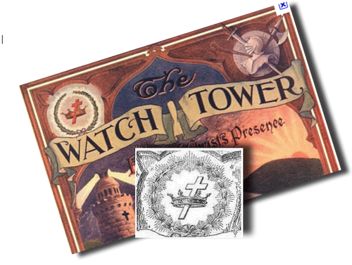 watchtower cross and crown