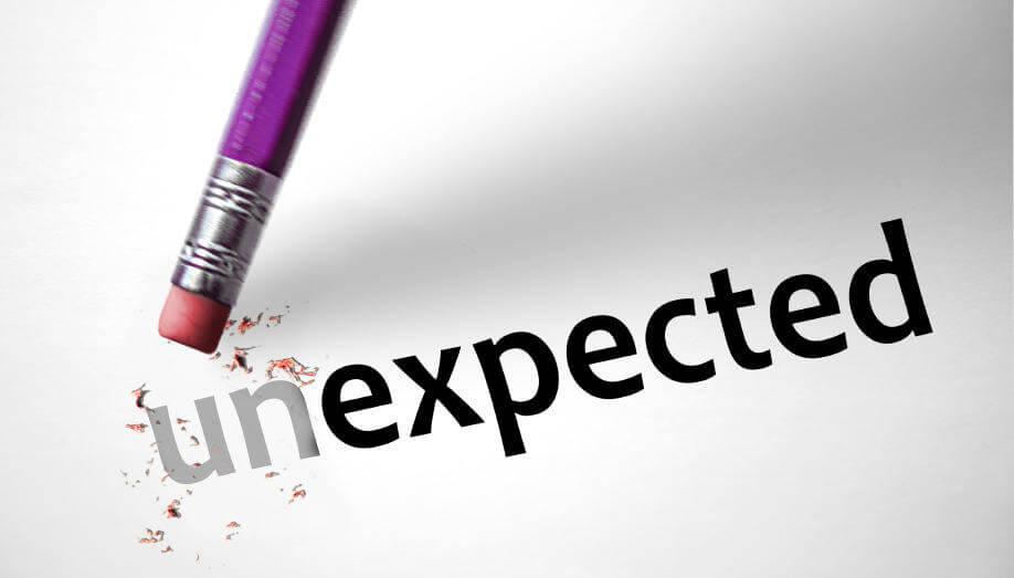 un-expected change