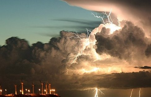 storm of Jehovah