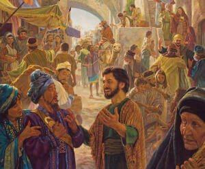 streets of Jeruslaem pentecost