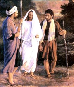 disciples on their way to Emmaus