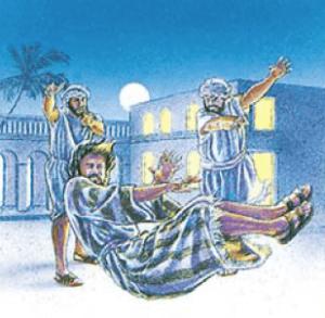 evil slave thrown out - Jesus' illustration