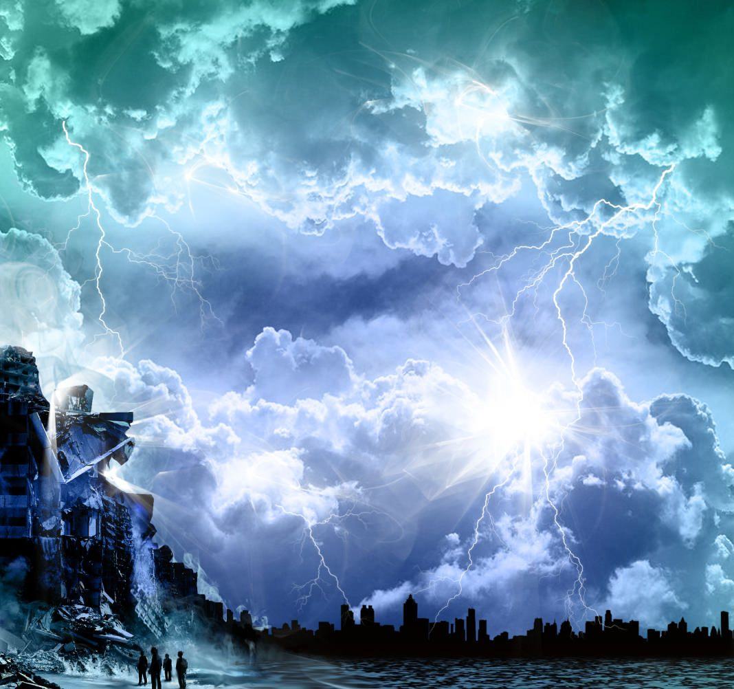 Armageddon - war clouds and gloom
