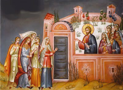 foolish virgins locked out of wedding feast