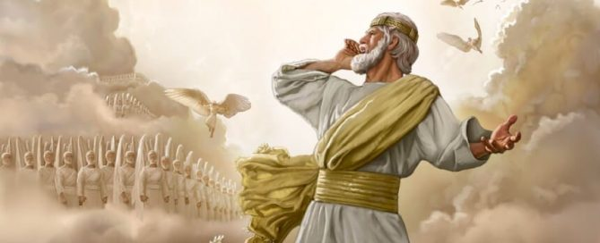 Jesus commands the angels