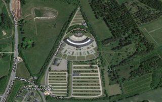 Silkebord congress hall appears as eye of Horus