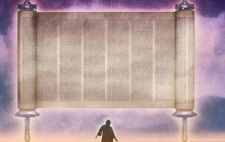 Flying scroll of Zechariah's vision